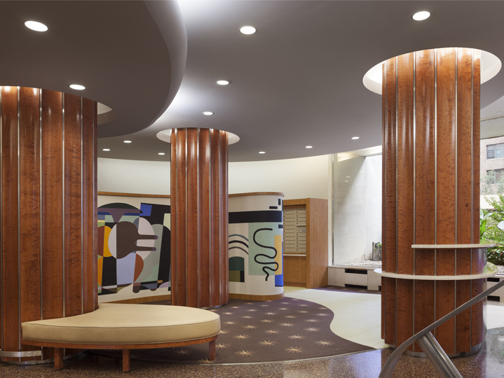 The York Apartment Lobby
